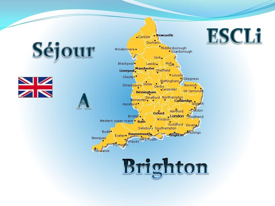 50 élèves iront visiter le Sud-Est de lAngleterre du 02 au 06 Avril 2013.