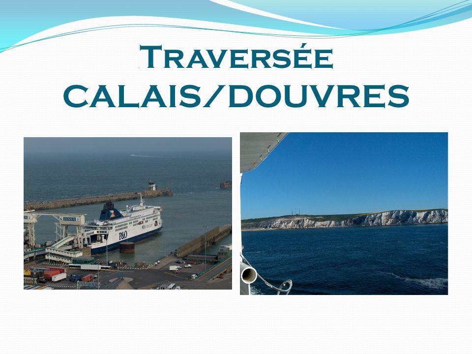. Traversée CALAIS/DOUVRES