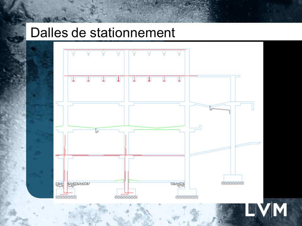 Dalles de stationnement Insert photo