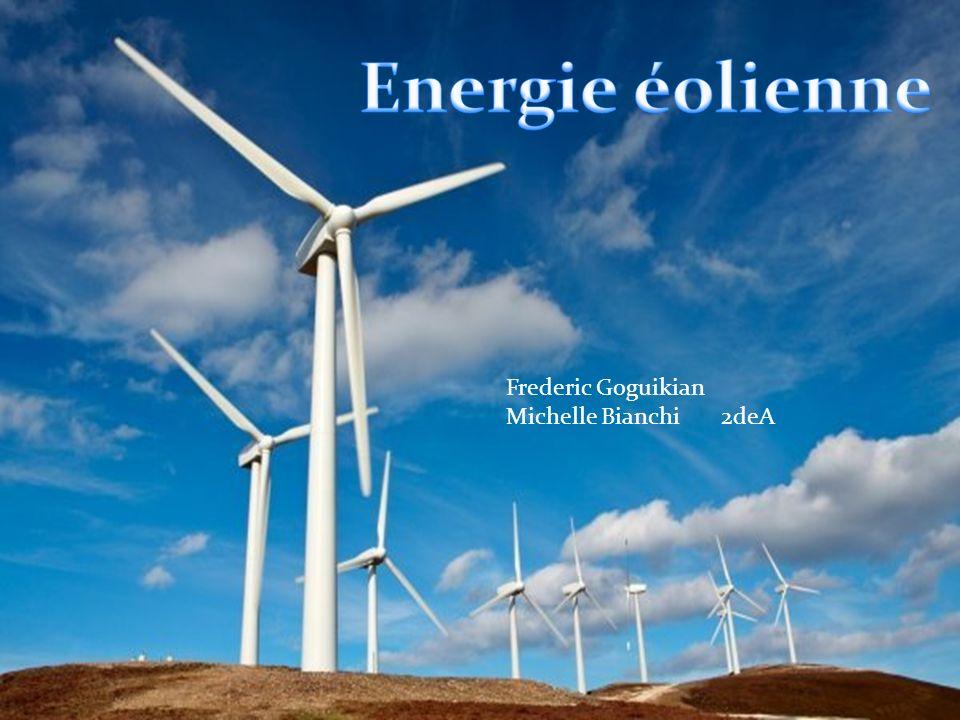 Le vent est énergie naturelle capable de créer de l électricité ou une force mécanique : cest lénergie éolienne.