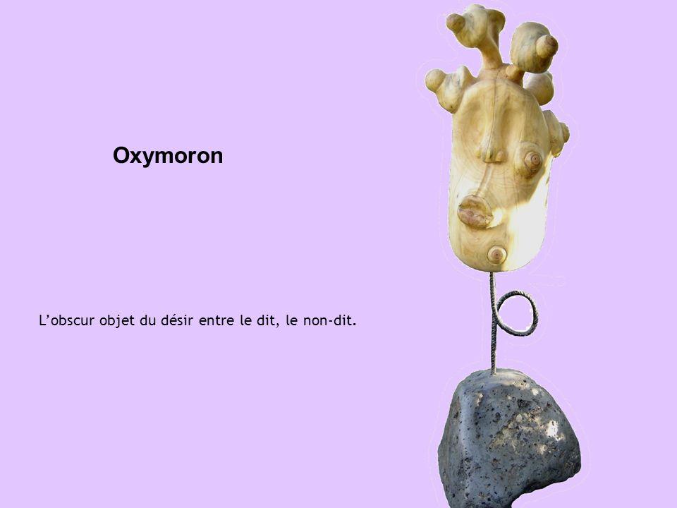 Oxymoron Lobscur objet du désir entre le dit, le non-dit.