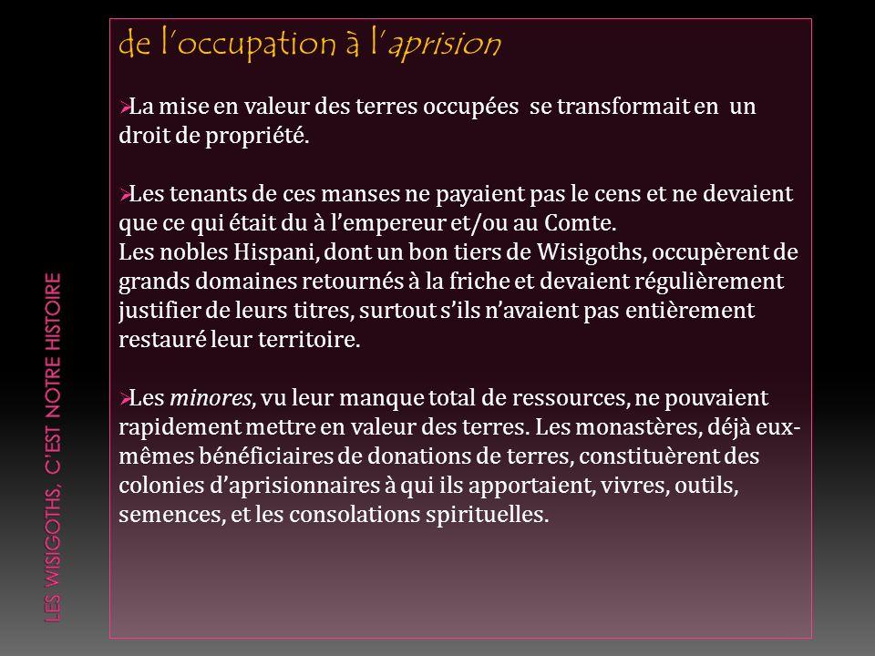 Jean LHispani Il faisait partie de ces nobiliores, à qui les Franks avaient confié un commandement militaire.