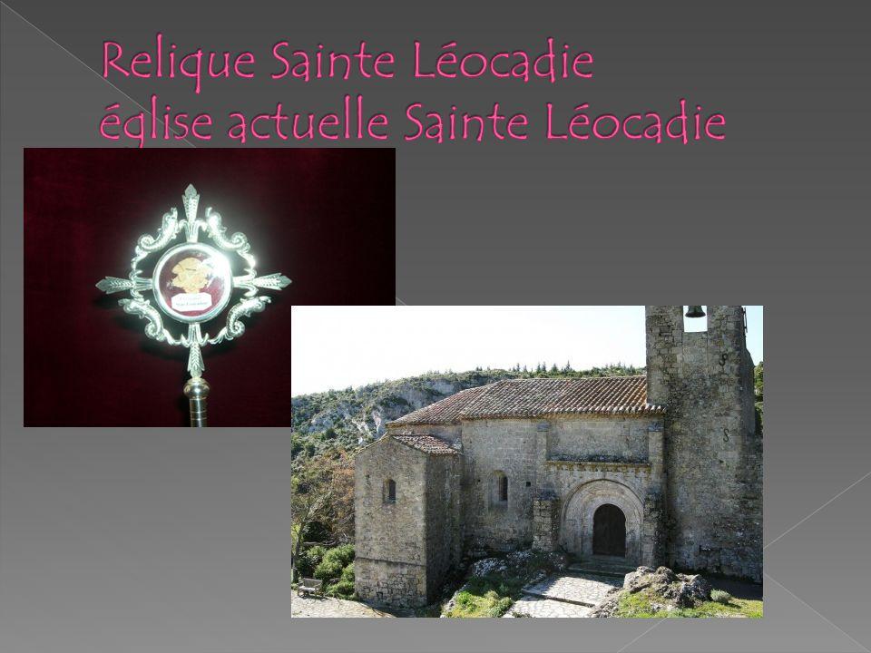 Les églises de Fontjoncouse E.