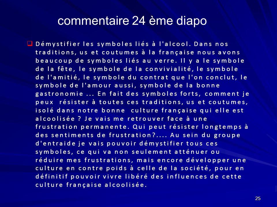 25 Démystifier les symboles liés à l'alcool. Dans nos traditions, us et coutumes à la française nous avons beaucoup de symboles liés au verre. Il y a