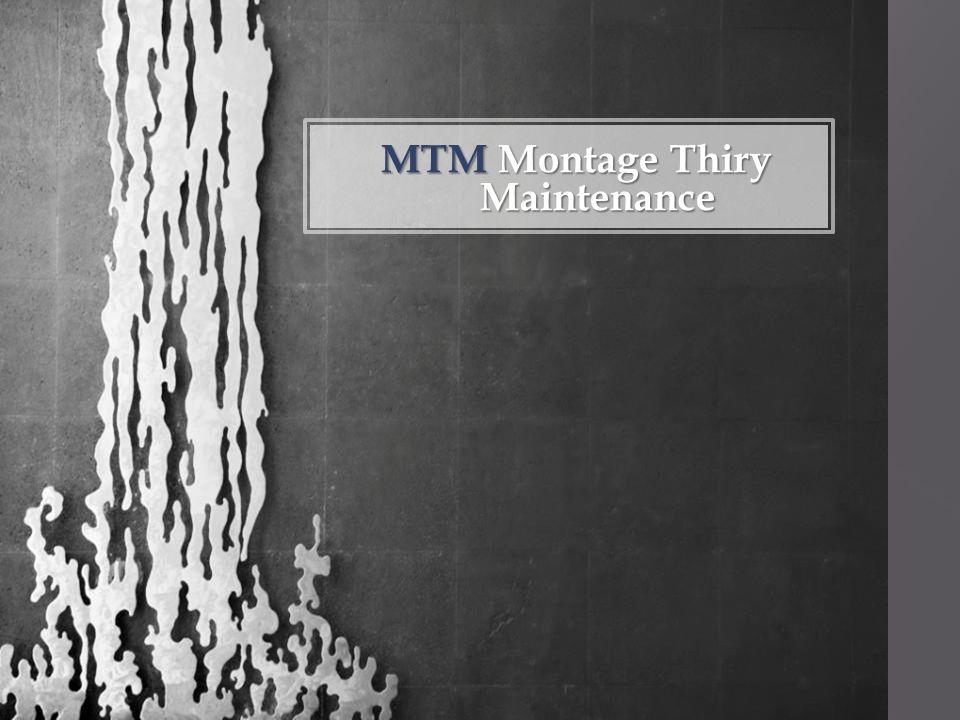 MTMMontage Thiry Maintenance MTM Montage Thiry Maintenance