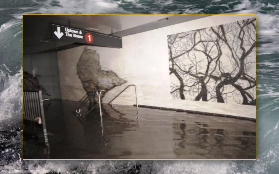 Après Sandy inondations métro
