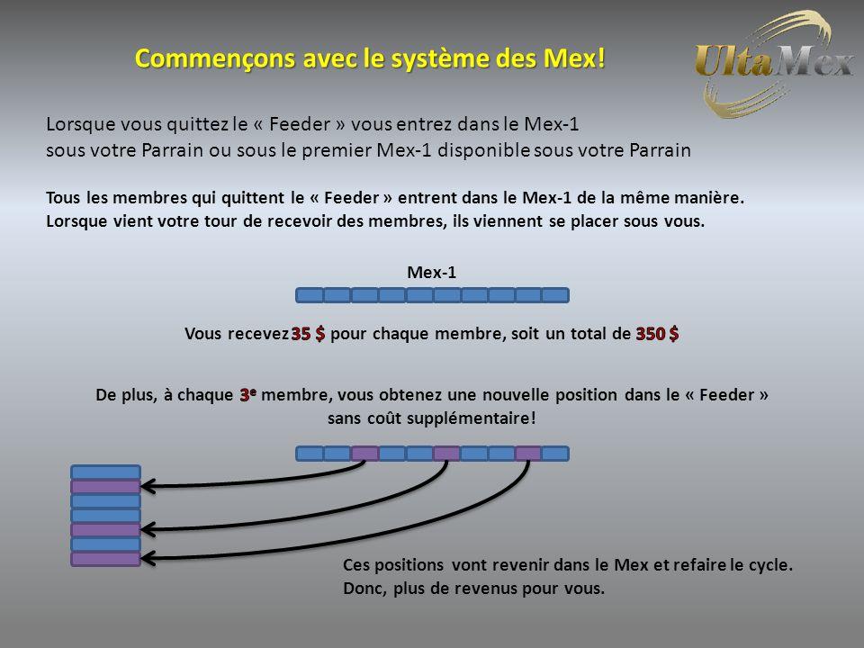 Commençons avec le système des Mex.