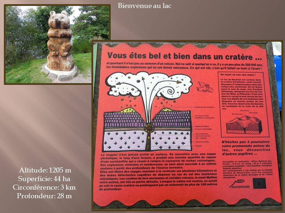 Il se trouve dans le Massif de Devès (1421m), entre la Loire et l Allier.