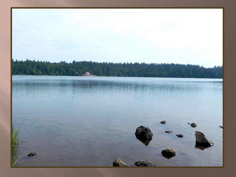 Bienvenue au lac Altitude: 1205 m Superficie: 44 ha Circonférence: 3 km Profondeur: 28 m