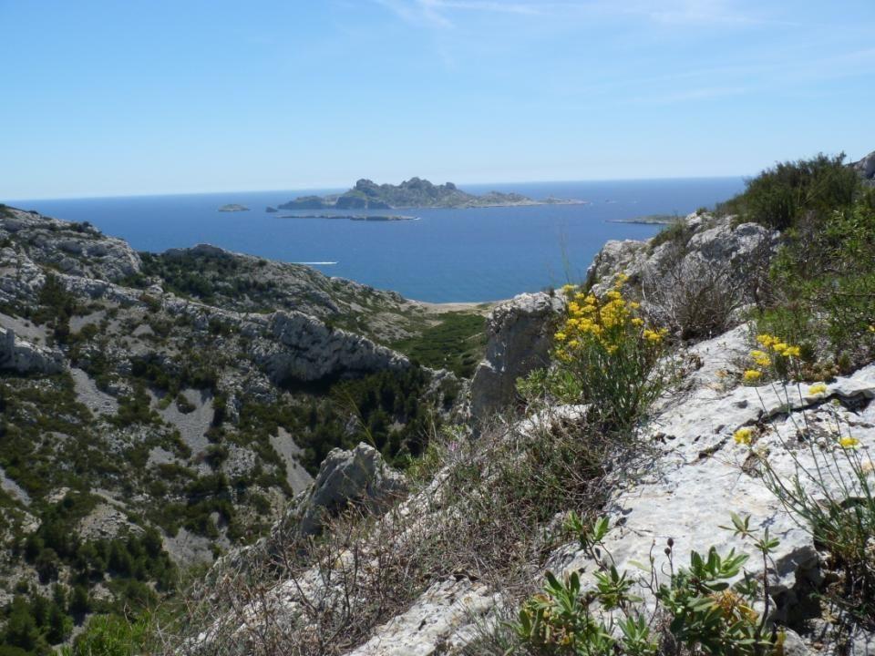 Col de la Selle et belle vue sur Marseille
