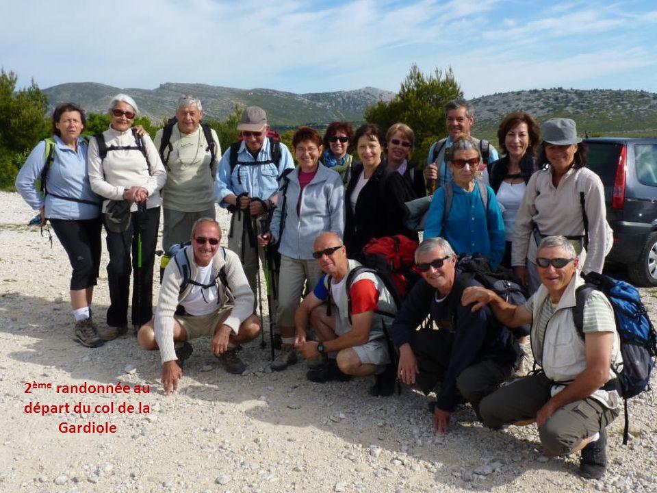 Fin de la 1 ère randonnée et retour à Callelongue