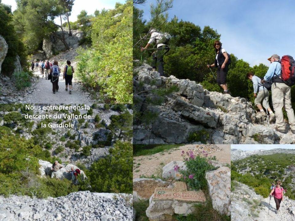2 ème randonnée au départ du col de la Gardiole