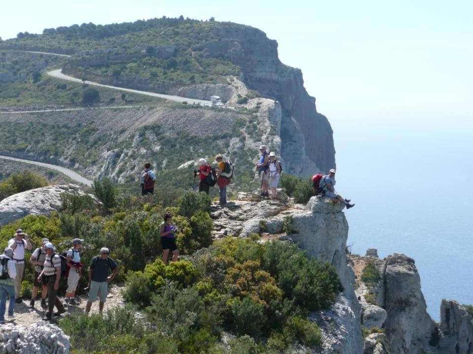 Nous sommes sur les falaises les plus hautes de France.