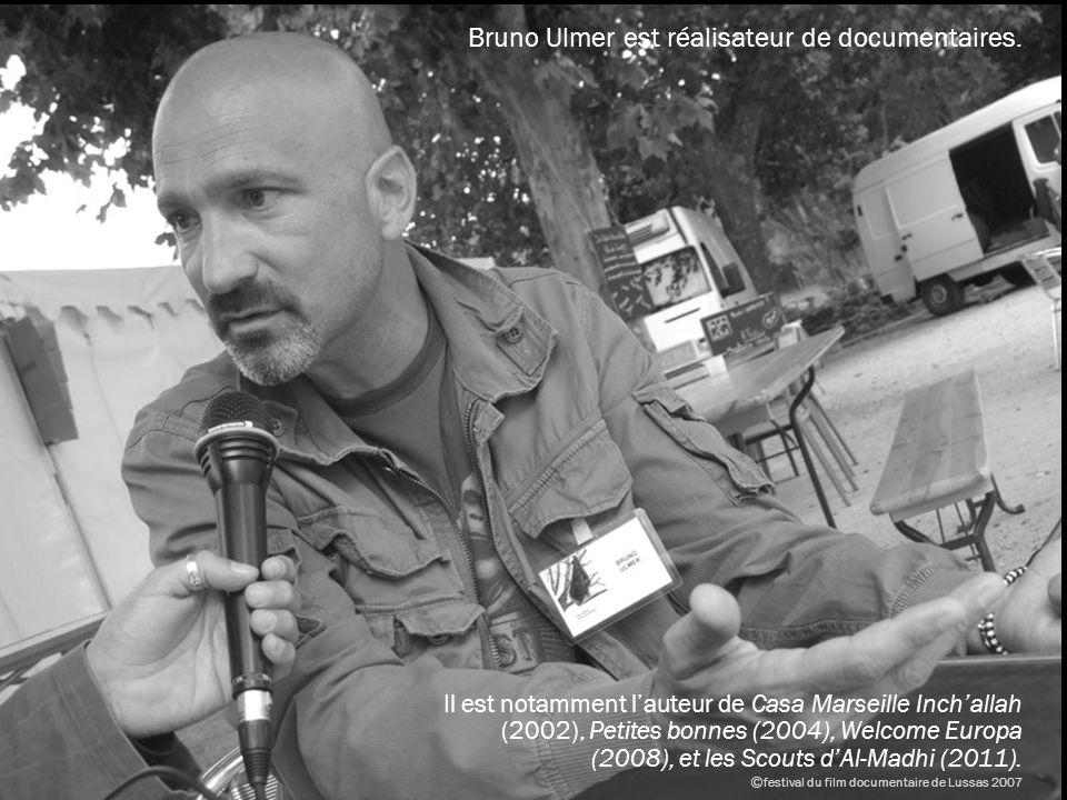 Le processus de création Dès les premières réunions du comité scientifique, la Villa Méditerranée a fait le choix du documentariste Bruno Ulmer pour imager, pour conter, pour donner à vivre lexpérience de la Méditerranée daujourdhui.