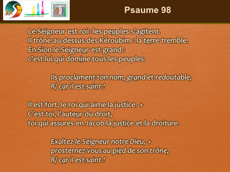 Psaume 98