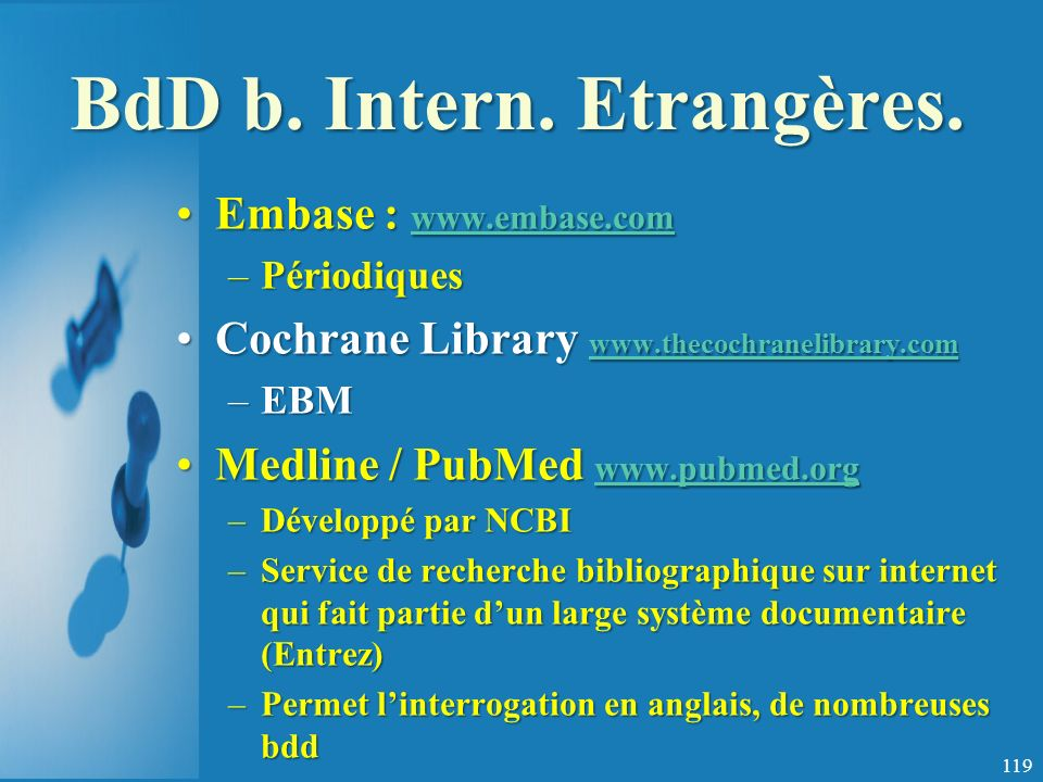 BdD b.Intern. Etrangères.