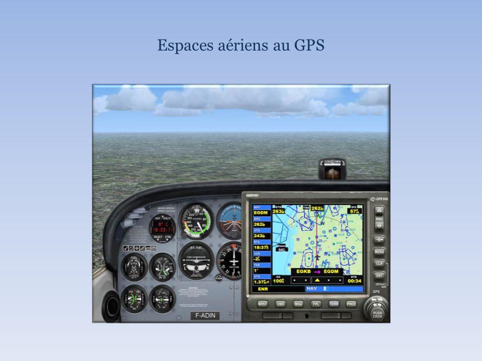 Espaces aériens au GPS