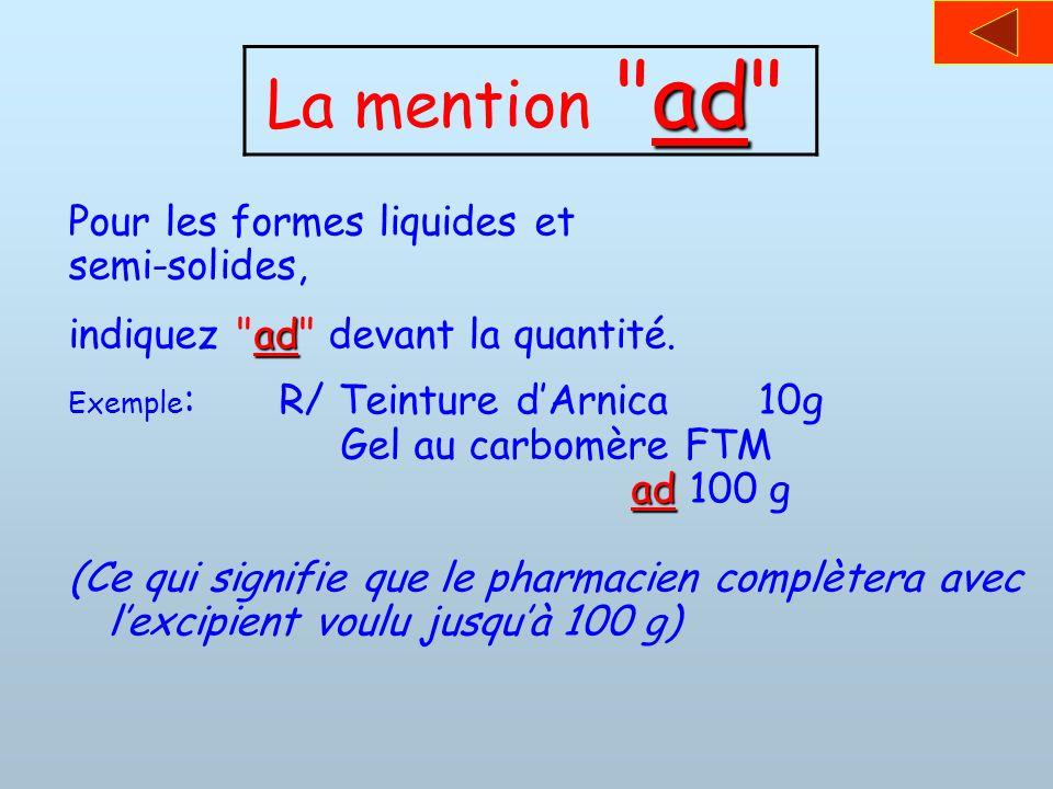 ad La mention