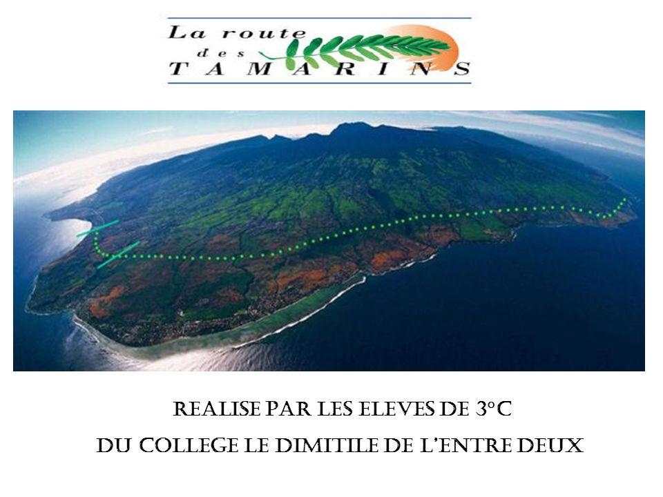 REALISE PAR les eleves de 3°C DU COLLEGE LE DIMITILE DE LENTRE DEUX