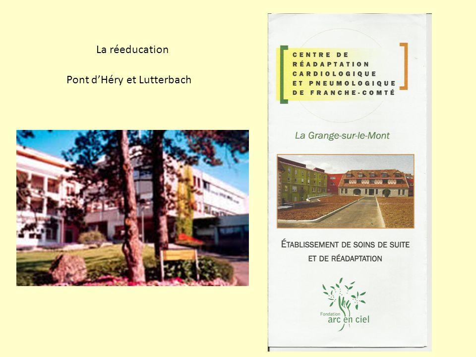 La réeducation Pont dHéry et Lutterbach
