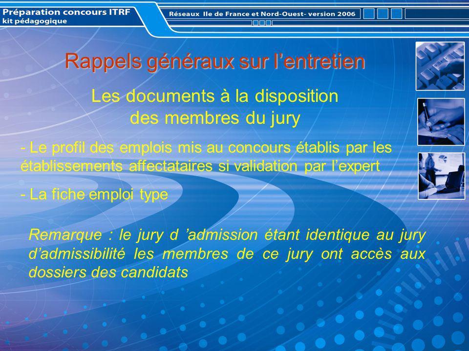 La présentation devant le jury : Remarque : Le plan thématique demande un effort de synthèse plus important mais en contre-partie est plus apprécié par les membres de jury.