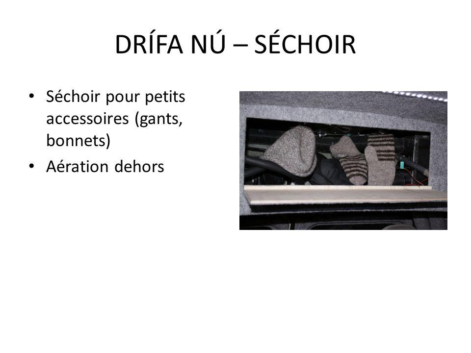 Séchoir pour petits accessoires (gants, bonnets) Aération dehors DRÍFA NÚ – SÉCHOIR