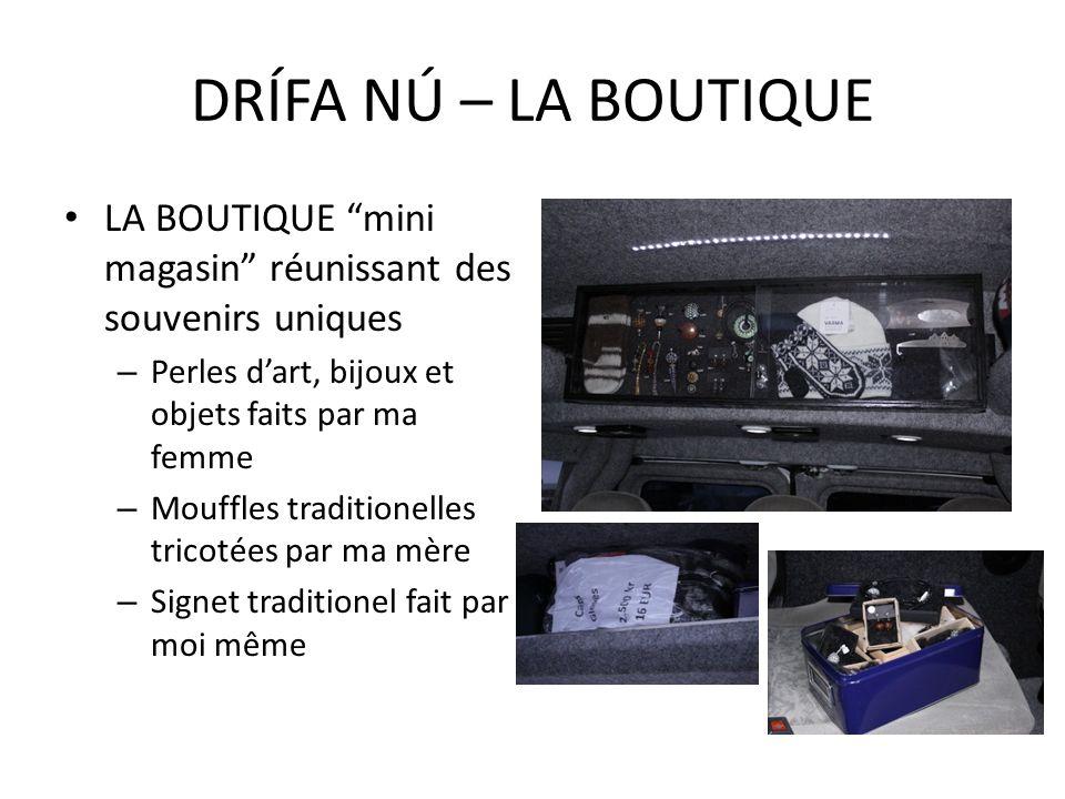 LA BOUTIQUE mini magasin réunissant des souvenirs uniques – Perles dart, bijoux et objets faits par ma femme – Mouffles traditionelles tricotées par m