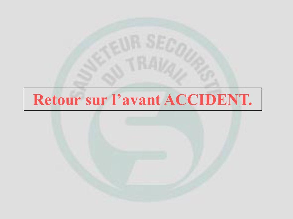 Face à une situation daccident, un Sauveteur Secouriste du Travail, Le Sauveteur Secouriste doit: ANALYSER LA SITUATION.