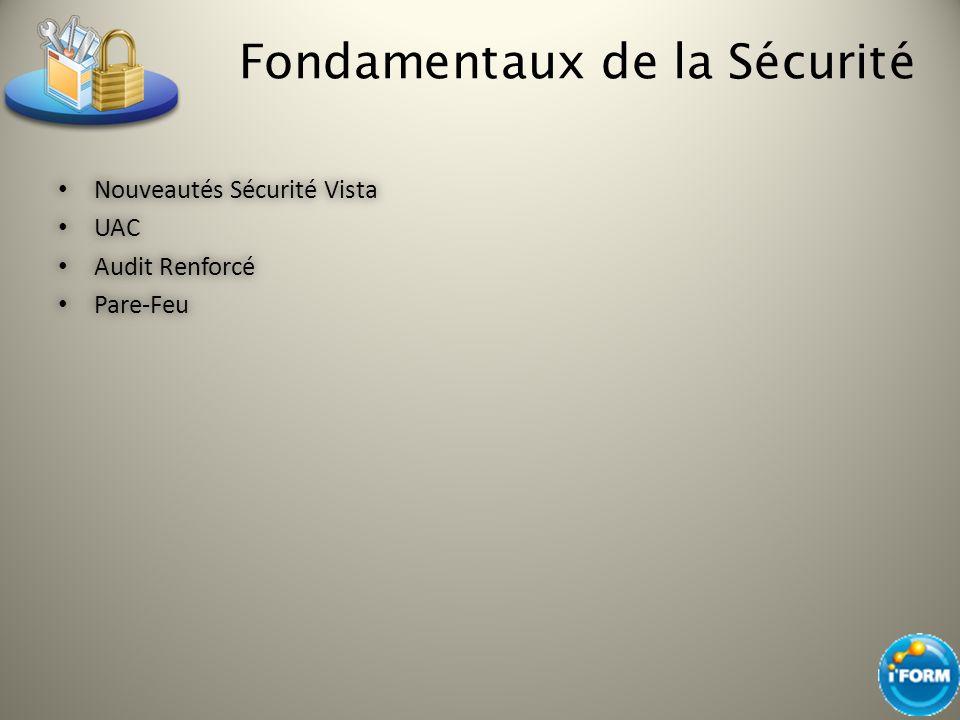 Les limites de la politique d audit avec Windows Vista – PAG non intégré avec les politiques de groupe Uniquement déployé avec des scripts de logon grâce à auditpol.exe : http://support.microsoft.com/kb/921469 http://support.microsoft.com/kb/921469 auditpol /set /subcategory: user account management /success:enable /failure:enable...