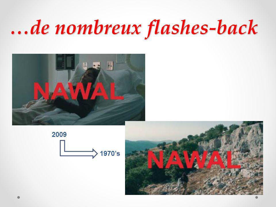 …de nombreux flashes-back 2009 1970s