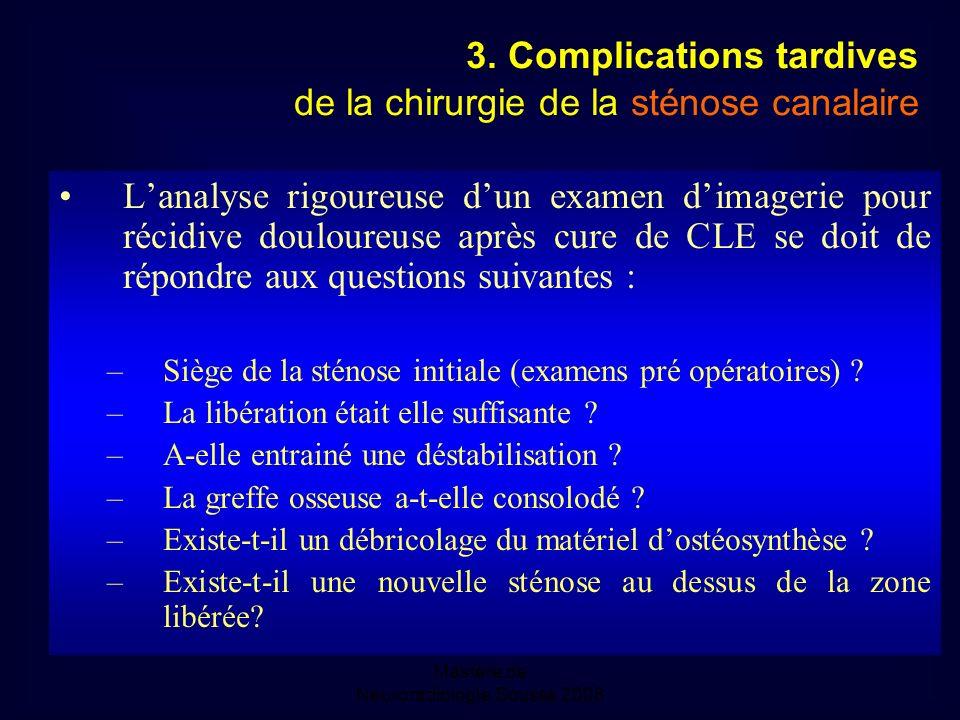 Mastère de Neuroradiologie.Sousse 2008 3.