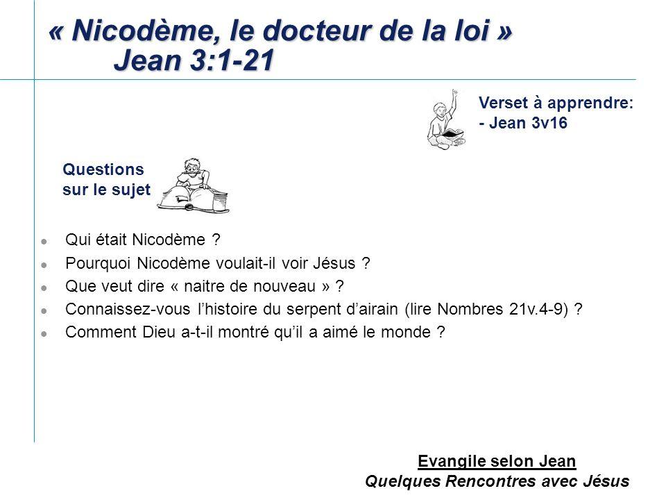 Evangile selon Jean Quelques Rencontres avec Jésus Pourquoi le Seigneur quitta-t-il la Judée (la région de Jérusalem) .