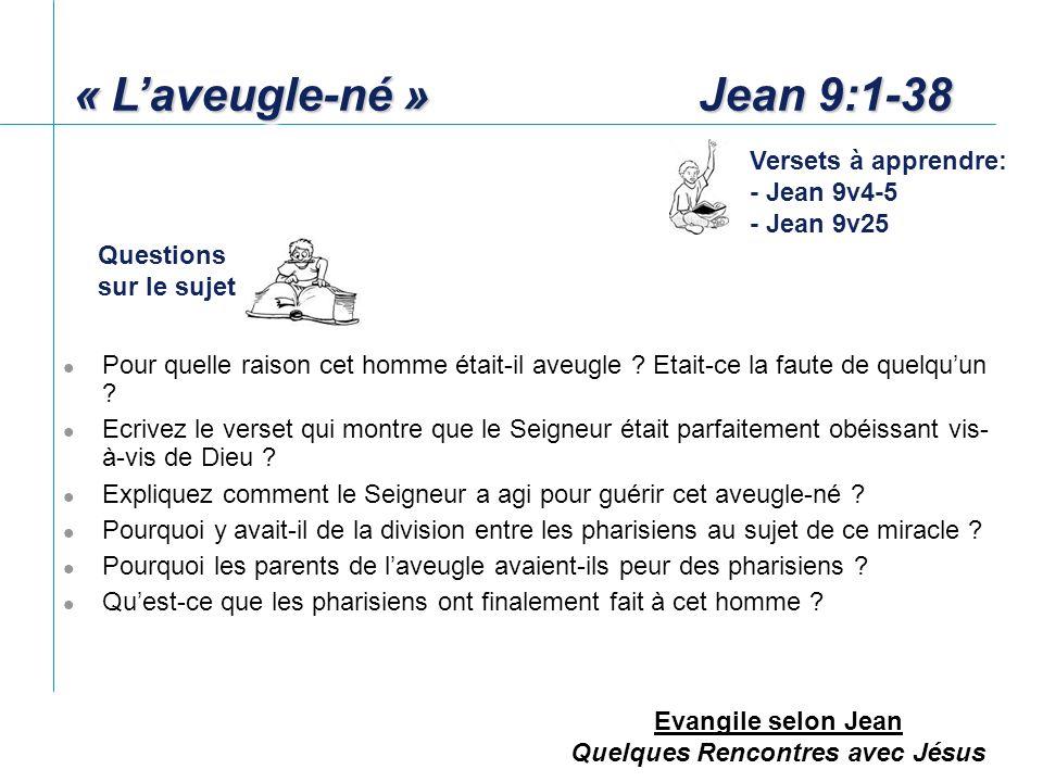 Evangile selon Jean Quelques Rencontres avec Jésus Qui était Ponce Pilate .