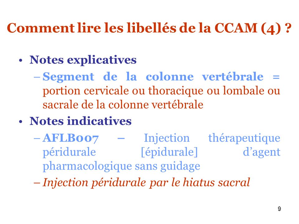40 Exemple de tarif dun acte Exemple : NZLB001 – Injection thérapeutique dagent pharmacologique dans une articulation ou bourse séreuse du MI, par voie transcutanée, sans guidage –Cotation NGAP : K7,5 soit 14,40 euros –Point travail : 46 –Valeur du point travail : 0,44 euros –Valeur des charges propre à la rhumatologie : 0,230 –Tarif CCAM = (46*0,44) + (46*0,230) = 30,82 euros –Tarif 2005 = 14,40 + (30,82-14,40)*0,33 = 19,82 euros –Tarif 2008 (atteinte du tarif cible depuis le 15/04/2006 tarif CCAM) = 30,82 euros