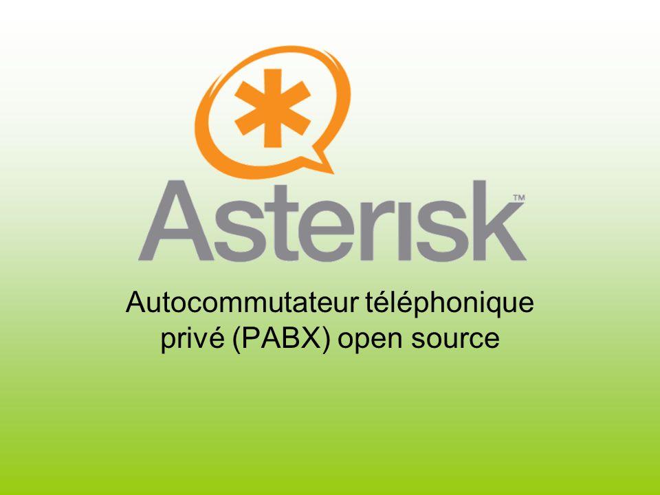 Autocommutateur téléphonique privé (PABX) open source