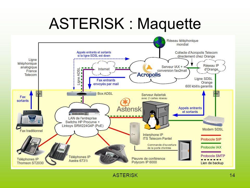 ASTERISK14 ASTERISK : Maquette