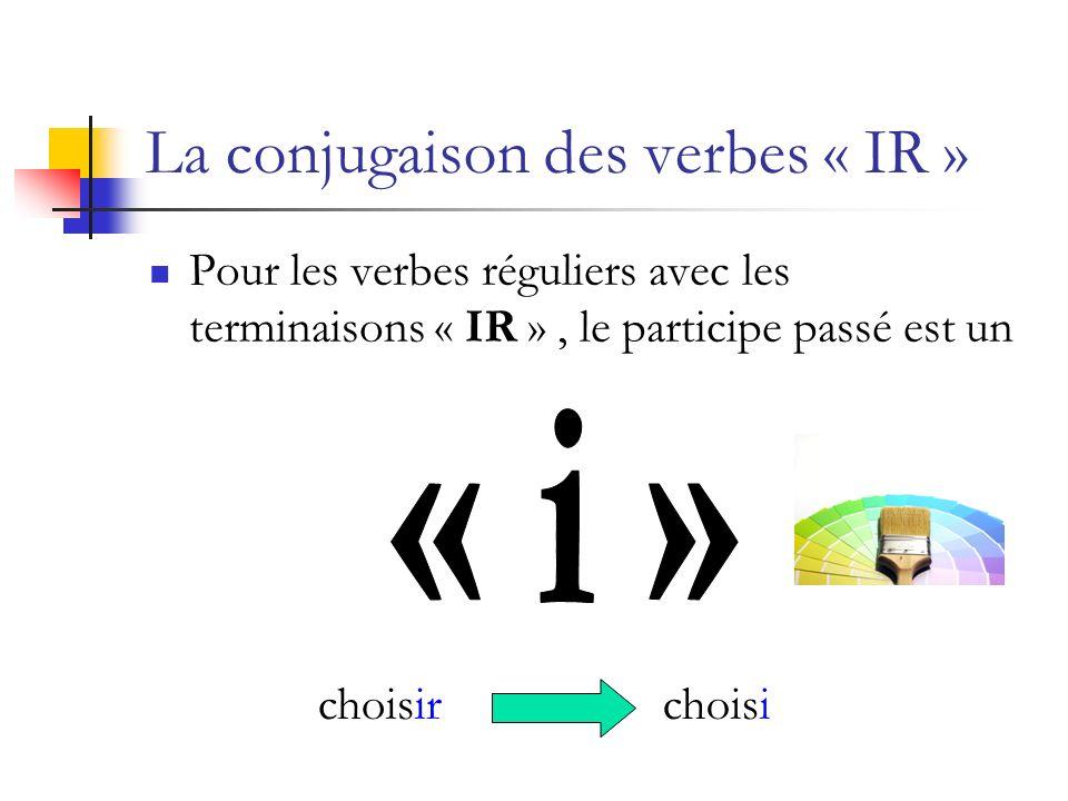 La conjugaison des verbes « RE » Pour les verbes réguliers avec les terminaisons « RE », le participe passé est un attendreattendu