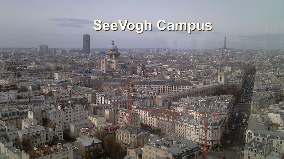 Caltech - UPMC JRES2011 22-25 novembre 2011 Toulouse1515 SeeVogh Campus