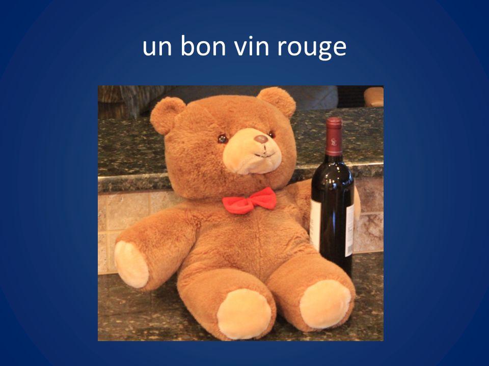 un bon vin rouge