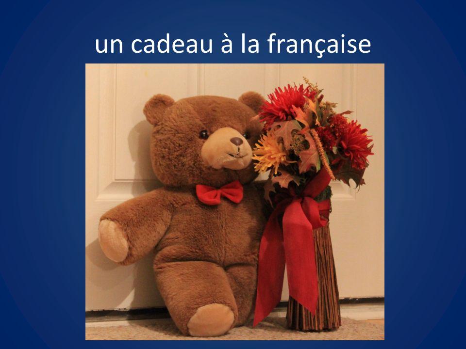 un cadeau à la française