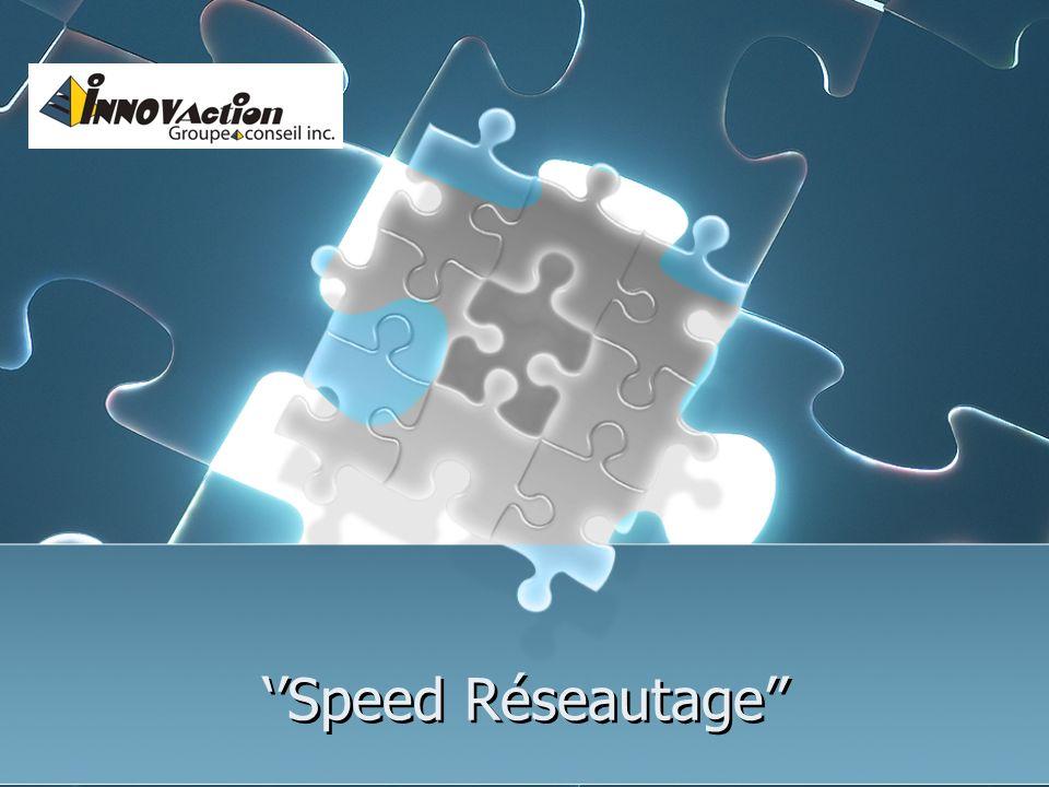 Speed Réseautage