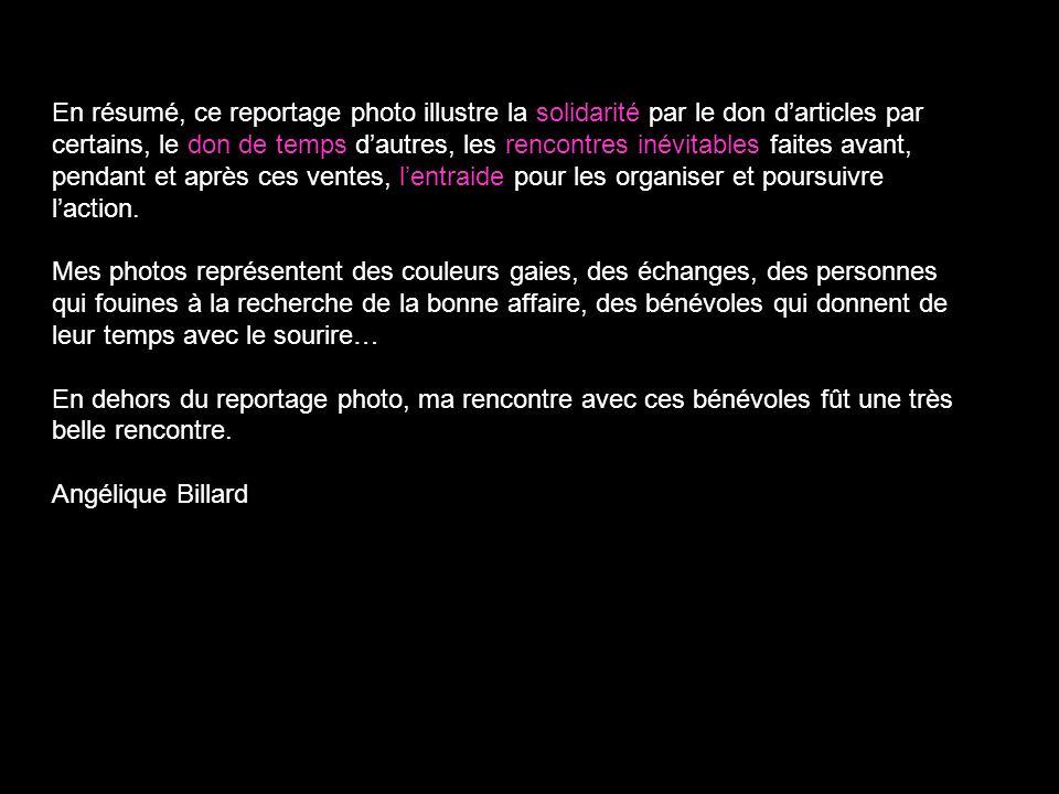 La friperie solidaire - Macaq Angélique Billard