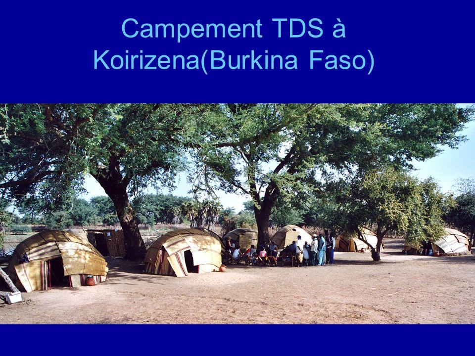 Campement TDS à Koirizena(Burkina Faso)