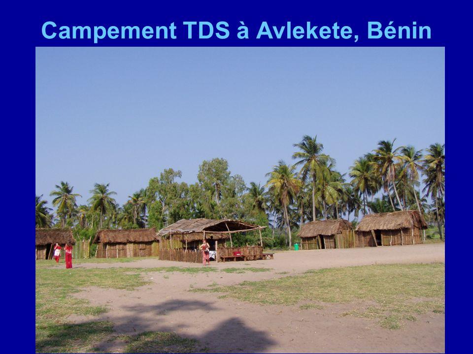 Campement TDS à Avlekete, Bénin