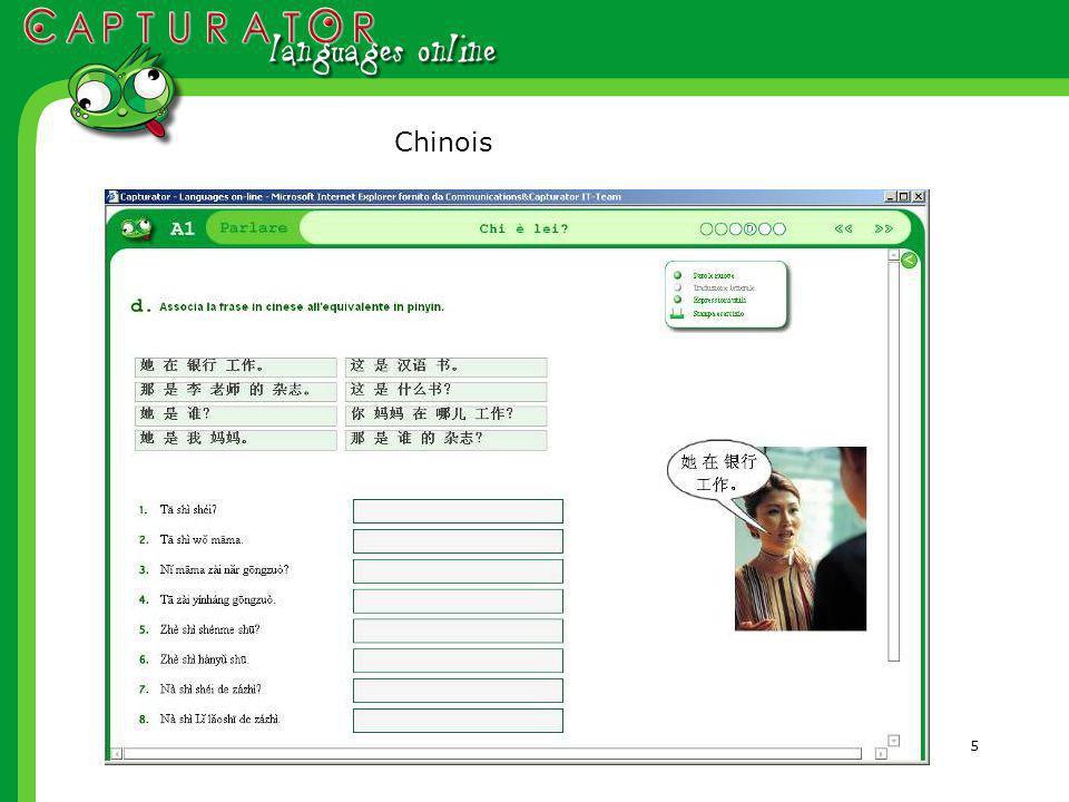 5 Chinois