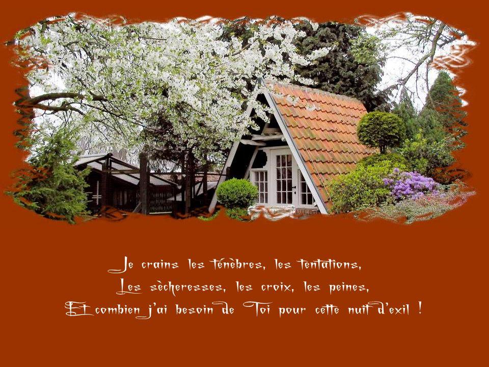 Reste avec moi, Jésus, parce quil se fait tard Et que le jour décline… Cest-à-dire que la vie passe, et que la mort, Le jugement et léternité approche