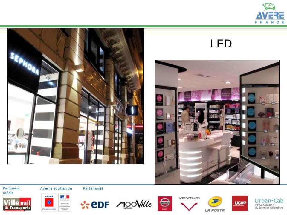 Partenaire média Avec le soutien dePartenaires LED