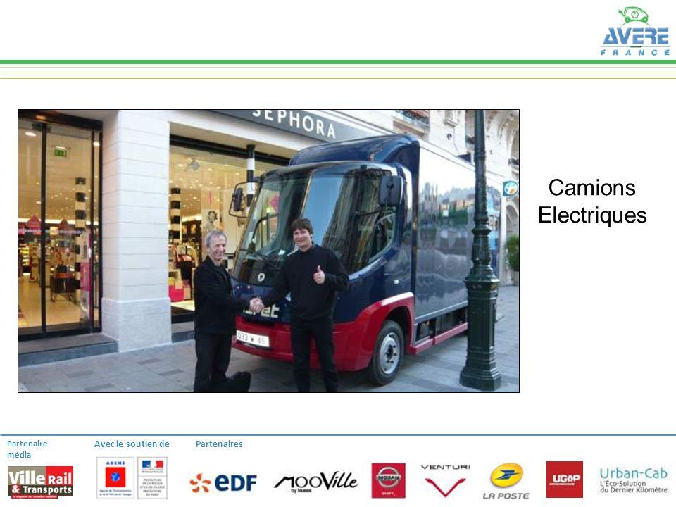 Partenaire média Avec le soutien dePartenaires Camions Electriques