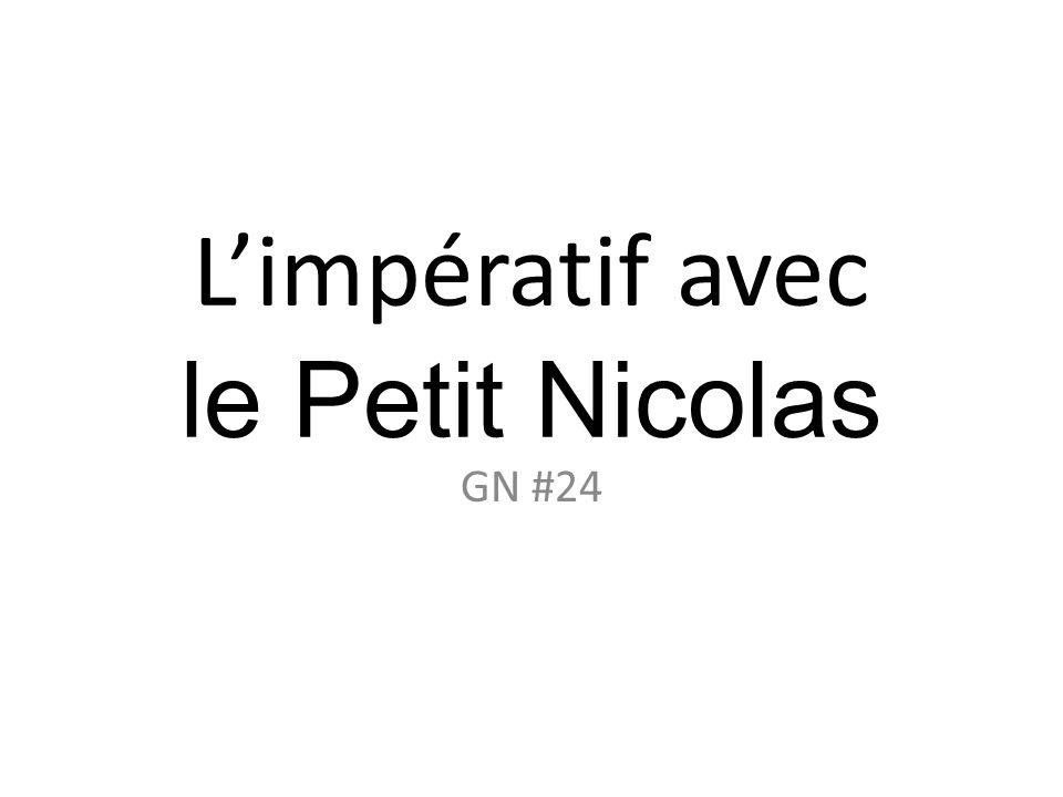 Le Petit Nicolas Le Petit Nicolas est une série littéraire de jeunesse imaginée et écrit en 1959 par René Goscinny et illustrée par Jean-Jacques Sempé.
