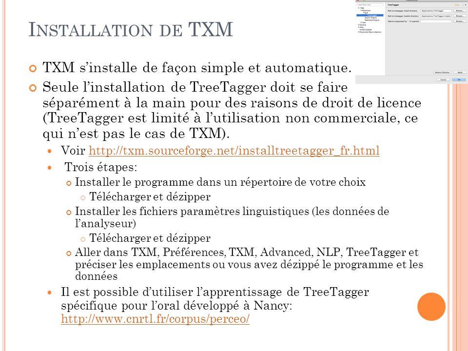 U TILISATION DE LOGICIELS DE TEXTOMÉTRIE Avantages: Conçus pour analyser des grandes quantités de texte.